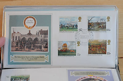 400 years of the derby June 6th 1979 set of 5 first day covers