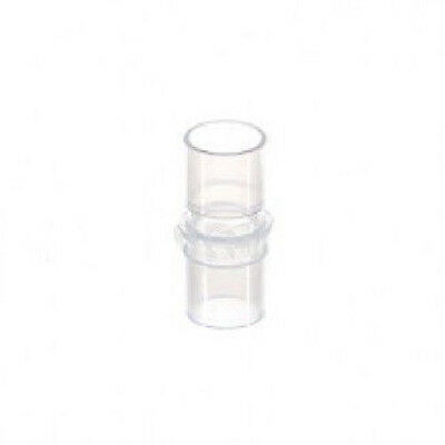 SLIM CPAP OXYGEN TUBING ADAPTER. EXTEND YOUR CPAP HOSE! 15mm ID 22mm OD