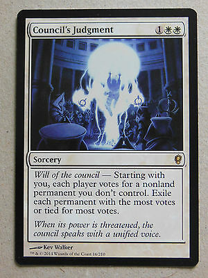 XXX 1x COUNCIL'S JUDGMENT englisch conspiracy (removal white) NM/MINT XXX XXX