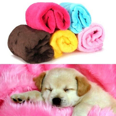 Small Pet Blanket Dog Cat Puppy Bed Mat Cover Soft Warm Coral Velvet Sleep Mat
