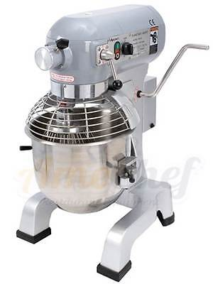 New ADCRAFT Planetary 20 QT Mixer ETL/NSF with 3 attachments and HUB,  PM-20