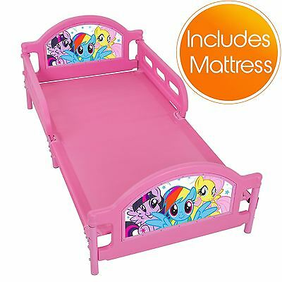 My Little Pony Junior Toddler Bed + Deluxe Mattress New