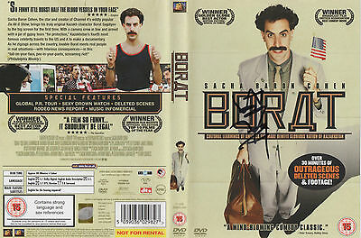 B2 Sacha Baron Cohen as Borat Signed Framed Poster Autographed A1 A2 A3 A4
