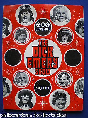 The Dick Emery Show  - ABC Blackpool  programme  1976