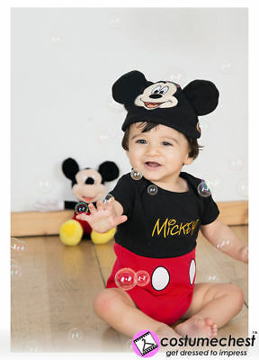 12-18 months Mickey Mouse Bodysuit And Hat By Disney Baby