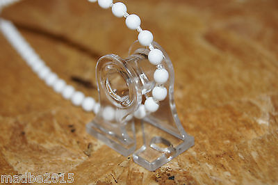 Blind Pull Chain / Cord Child Safety Tensioning Holder /Clip - Clear Spare Parts