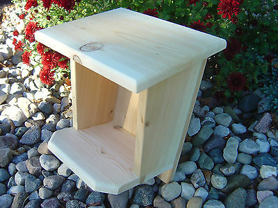 Robin / Mourning Dove / Swallow Nest Box, White Cedar