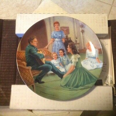 """""""Edelweiss - Sound of Music"""" Collection Plate Certificate, Estate"""