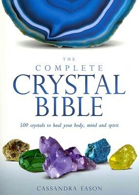 The Complete Crystal Bible by Cassandra Eason Paperback Book