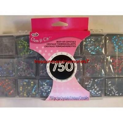 Tulip Glam-It-Up IRON ON CRYSTALS 750PC 25668