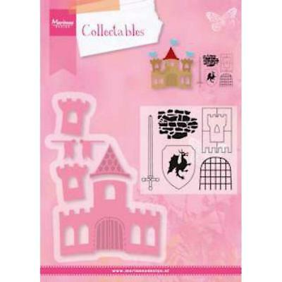 marianne design collectables die & stamp set ELINES Castle COL1404