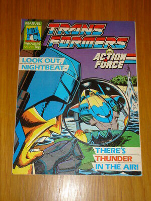 Transformers British Weekly #231 Marvel Uk Comic 1989