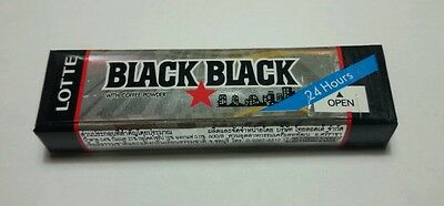 2 x LOTTE - BLACK BLACK - Chewing Gum with coffee