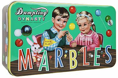 Dumpling Dynasty Marbles 160 Pc Assorted Set in Tin