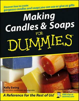 Making Candles & Soaps for Dummies by Kelly Ewing (English) Paperback Book Free