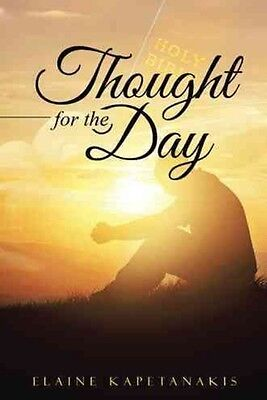Thought for the Day by Elaine Kapetanakis Paperback Book (English)