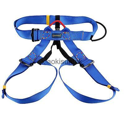 Rock Climbing Safety Harness Seat Sitting Bust Belt Rappelling Gear Equip