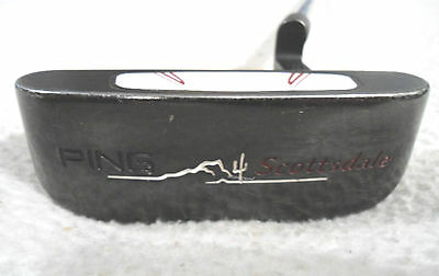 "Ping Scottsdale B60 35"" Heel-Shafted Black-Dot Putter. USED"