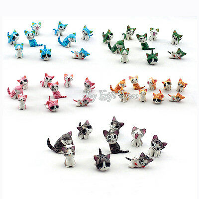 9 Pcs Lovely Chi's Sweet Home Cat FIGURES