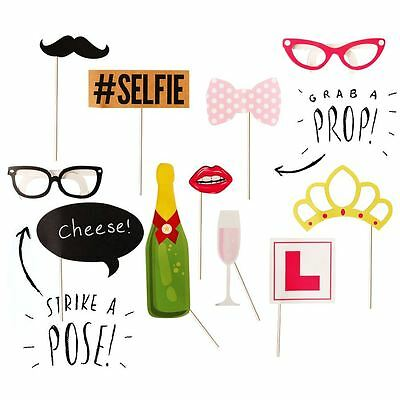 10pcs Photobooth Props Hen Party Prop Wedding Photo Booth Celebrations