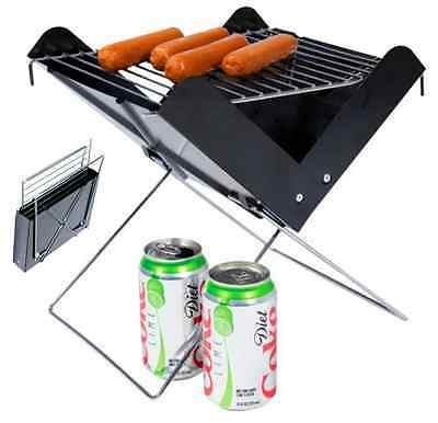 Portable Bbq V Grill Easy To Take Charcoal Picnic Camping Party Outdoor Portable