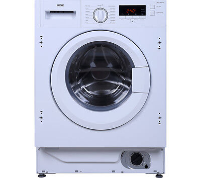 LOGIK LIW814W15 Integrated Washing Machine 8 kg A+++ 1400 rpm - White