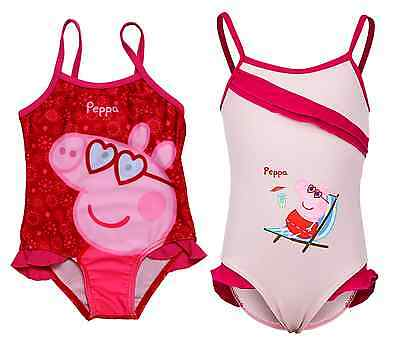 Girls Official Licensed Peppa Pig Swim Wear | Swimming Costume | Swimsuit