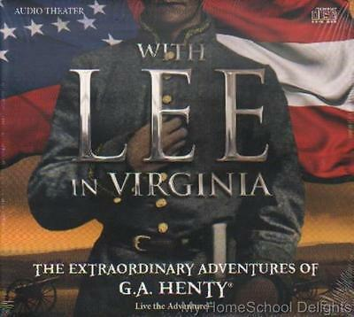 New WITH LEE IN VIRGINIA Extraordinary Adventures of G A Henty 2015 Audio CD SET