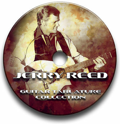 Jerry Reed Country Guitar Tabs Tablature Song Book Software Cd