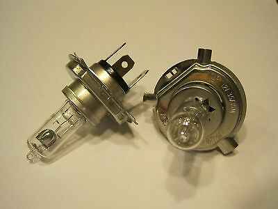 A Pair Oem 12V 35/35W Headlight Bulb,work On Atv,scooter,moped,go Kart,motorcycl