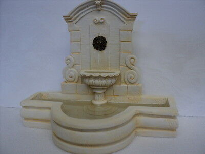 Dollhouse Wall Fountain/ Ivory/ A4262Iv