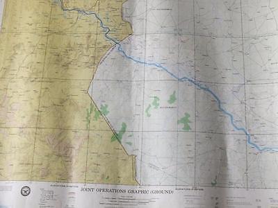 GAYA, NIGER  Military Joint Operations Graphic (Ground) Map  mp.35