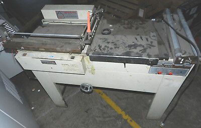 UNTESTED * Sergeant * L-Sealer SHRINK WRAP / Packaging Machine (NO HEAT TUNNEL)