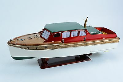 "Chris Craft Double Cabin Cruiser 32"" - Ready to display or convert to RC"