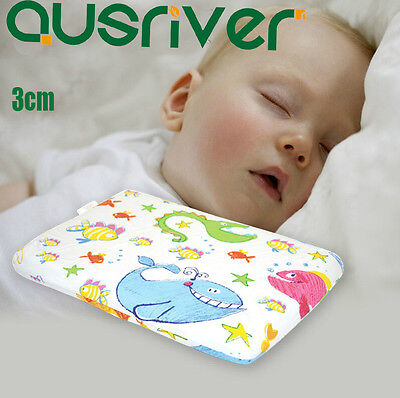 100% Nature Latex Pillow For 0-2 Years Old Baby Safe Deep Sleep Anti Bacterial