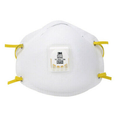 3M 8515/N95 Half Face With Breathing Valve Protective Mask Soot Anti-Dust PM2.5