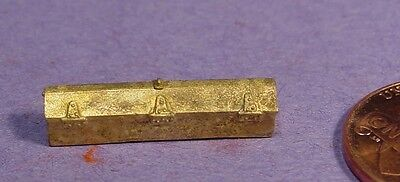 HO/HOn3 BRASS WISEMAN BACK SHOP HBS045 STEAM LOCOMOTIVE OR TENDER TOOL BOX