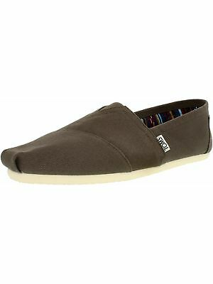 Toms Men's Alpargata Canvas Ankle-High Canvas Flat Shoe