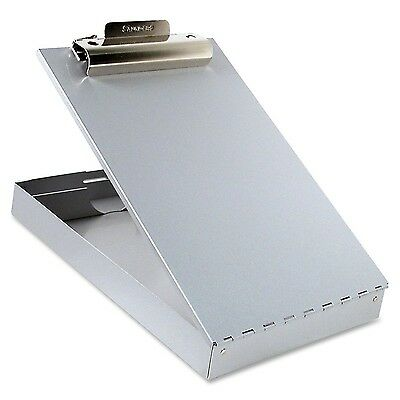 Metal Storage Clipboard Compartment Document Paper Box Container Office Letter