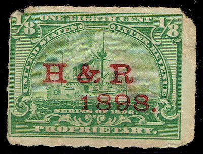 (E787) United States Revenue Stamp - 1898 - 'proprietary' Series Of 1898