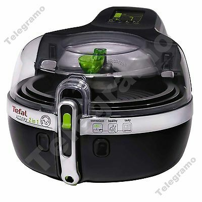 New Tefal YV960140 ActiFry 2 in 1 Low Fat 1.5Kg Fryer with Rotating Paddle