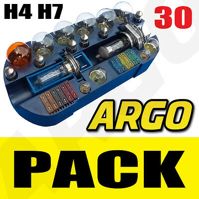 Peugeot 206 307 406 H4 H7 Emergency Replacement Bulb Fuse Set Spare Kit Car 55W