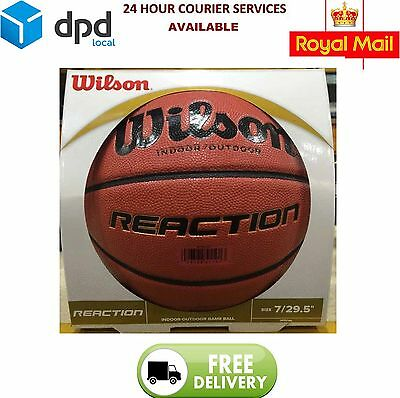 "Wilson Reaction Basketball Performance Composite -Official 29.5"" Gameball"