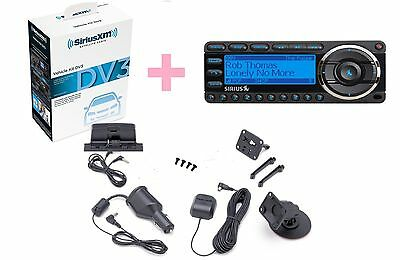 Sirius StaRmate 5  with complete Car vehicle kit :Antenna,Dock ,Charger ,Radio