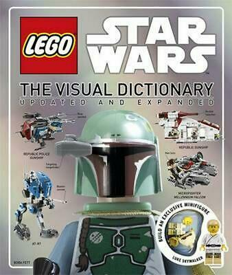 Lego Star Wars Visual Dictionary by Dk Hardcover Book