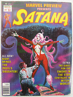 Marvel Preview #7 Satana 1st Rocket Raccoon Guardians of the Galaxy Very Nice!