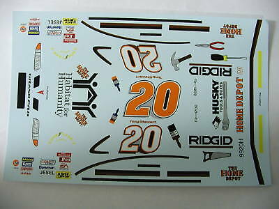 #20 Home Depot Grand Prix Tony Stewart decals