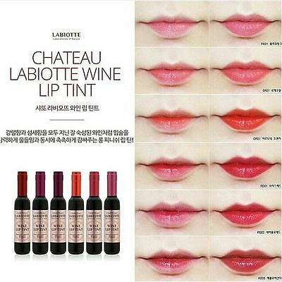 [CHATEAU LABIOTTE] Wine Shape Long Lasting Lip Tint with Wine Extract 7g NEW