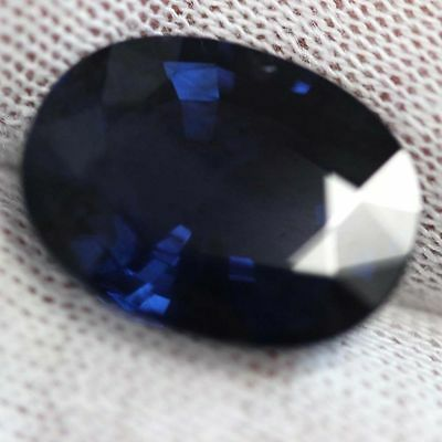 GIA certified natural untreated Loose oval cut 15.21ct Dark Cobalt Blue SPINEL