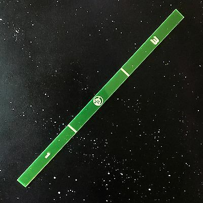 X-Wing Miniatures Game Attack Range Ruler GREEN